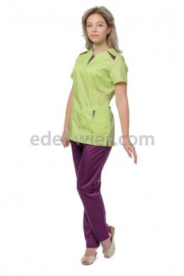 Костюм женский медицинский с оригинальными вставками