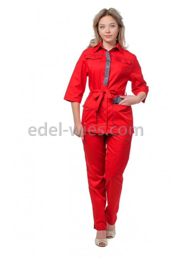 Костюм медицинский женский с накладными карманами