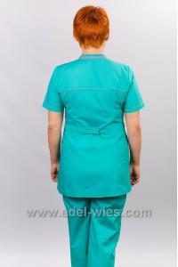 Костюм медицинский женский с воротником двойная стойка