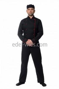 Китель мужской поварской с длинным рукавом
