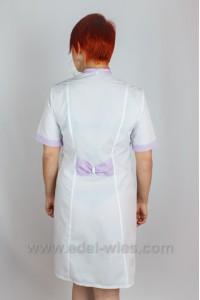 Женский медицинский халат с воротником шалька